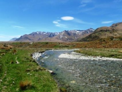 The Von River sits to the North of Lumsden and has been featured in the Middle Earth Movies.