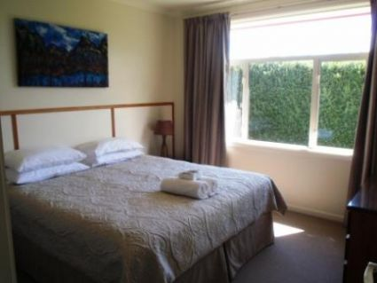 The main bedroom has a quality king bed which can be split into 2 singles.