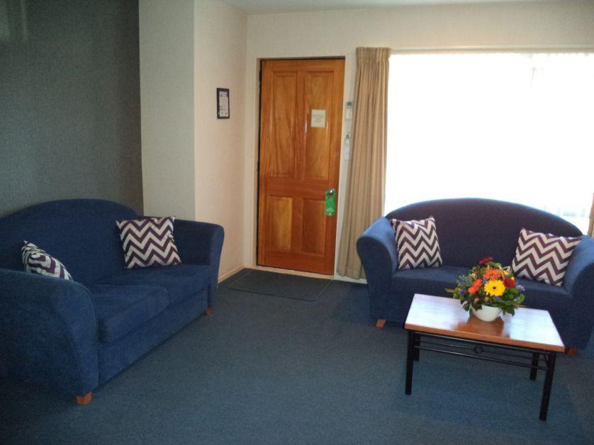Apartment lounge area