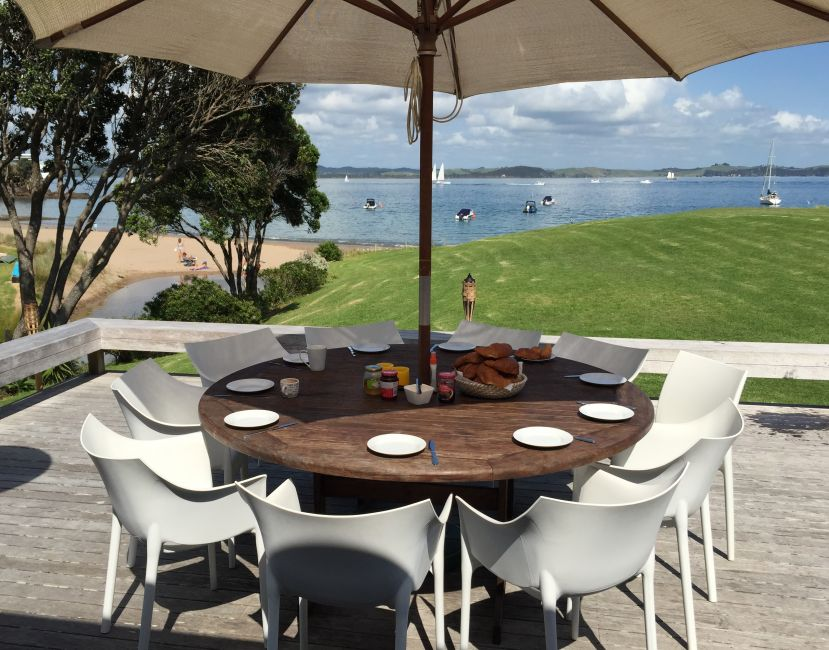 Superb outdoor dining