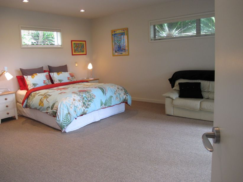 Large king bedroom, opens out to paitio
